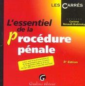 Essentiel De La Procedure Penale, 4eme Edition - Intérieur - Format classique