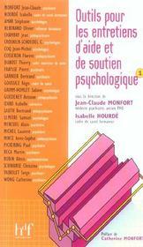 Outils Pour Les Entretiens D'Aide Et De Soutien Psychologique T.1 - Intérieur - Format classique