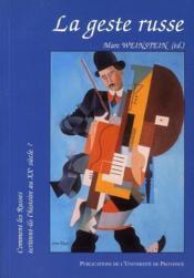 Geste Russe - Couverture - Format classique