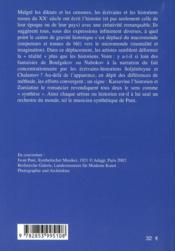 Geste Russe - 4ème de couverture - Format classique