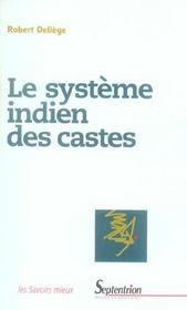 Le Systeme Indien Des Castes - Intérieur - Format classique