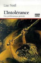 L'Intolerance - Couverture - Format classique