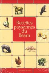 Recettes paysannes du Béarn - Couverture - Format classique