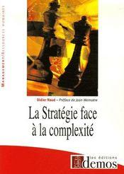 La stratégie face à la complexité - Intérieur - Format classique