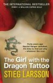 Vente livre :  THE GIRL WITH THE DRAGON TATTOO  - Stieg Larsson