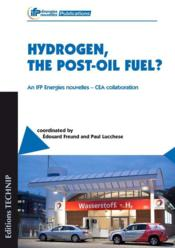 Vente livre :  Hydrogen, the post-oil fuel ?  - Collectif