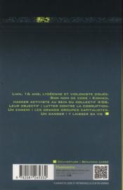 Nom de code : komiko t.1 - 4ème de couverture - Format classique