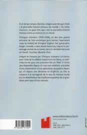 Adieu Goulsary - 4ème de couverture - Format classique