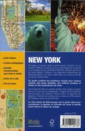 **New-York - 4ème de couverture - Format classique
