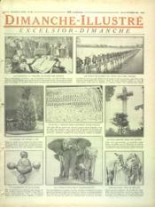 Dimanche Illustre N°86 du 19/10/1924 - Couverture - Format classique
