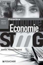 CONNEXIONS ; économie ; 1re STMG ; guide pédagogique - Couverture - Format classique