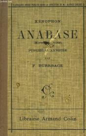 Anabase,morceaux Choisis. - Couverture - Format classique