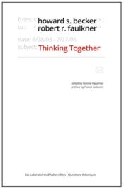 Thinking together ; an e-mail exchange and all that jazz - Couverture - Format classique