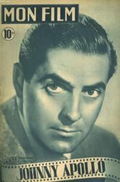 Mon Film N° 87 - Johnny Apollo - Couverture - Format classique