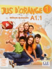 Vente livre :  Jus d'orange niveau 1 eleve + dvd - version internantionale  - Collectif