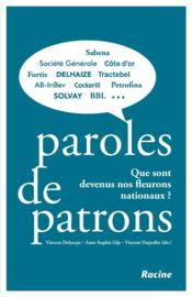 Paroles de patrons  - Vincent Delcorps
