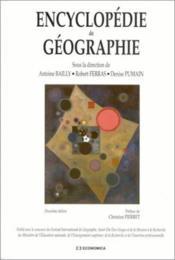 Encyclopedie de geographie - Couverture - Format classique