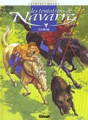 Les tentations de Navarre t.2 ; le roi lion - Intérieur - Format classique