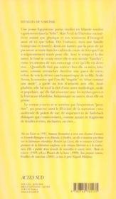 Feuilles de narcisse - 4ème de couverture - Format classique