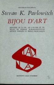 Bijou D'Art - Couverture - Format classique