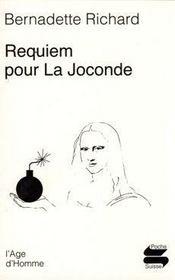 Requiem pour la Joconde - Intérieur - Format classique