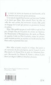 Paris Point Du Jour - 4ème de couverture - Format classique