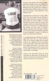 Repris De Justesse - 4ème de couverture - Format classique