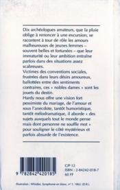 Nobles Dames, Nobles Amours - 4ème de couverture - Format classique