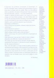 Nutrition Artificielle De L'Adulte En Reanimation - Srlf - 4ème de couverture - Format classique