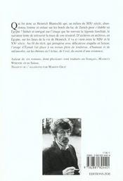 Ami De Lesseps (L') - 4ème de couverture - Format classique