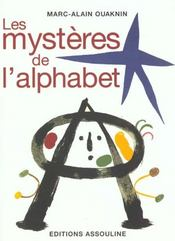 Les mystères de l'alphabet - Intérieur - Format classique
