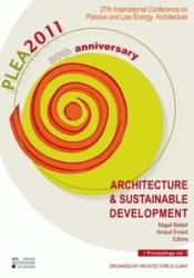 Vente livre :  Vol 1 27th International Conference On Passive And Low Energy Architecture  - De Herde A