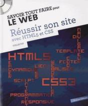 Savoir Tout Faire ; Pour Le Web ; Réussir Son Site Avec Le Html - Couverture - Format classique