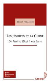 Jesuites Et La Chine - Couverture - Format classique