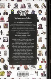 Vents contraires ; le livre collaboratif du théâtre du Rond-Point - 4ème de couverture - Format classique