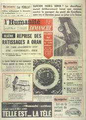 Humanite Dimanche (L') N°646 du 15/01/1961 - Couverture - Format classique