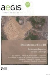 Vente  Excavations At Sissi Iii  - Driessen