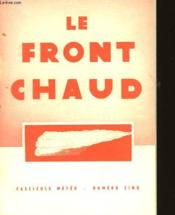 Fascicule Meteo - N°5 - Le Front Chaud - Couverture - Format classique
