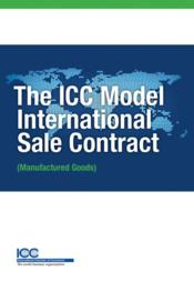Vente livre :  ICC model international sale  - Collectif
