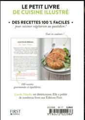 Cuisine végétarienne (édition 2017) - 4ème de couverture - Format classique