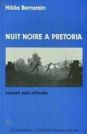 Nuit noire à Prétoria - Couverture - Format classique