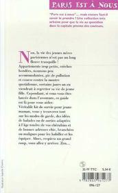 Sos Jeune Mère Parisienne. Trucs, Adresses Et Bons Conseils Pour Ne Pas Craquer Avec Des Enfants De 0 À 3 Ans - 4ème de couverture - Format classique