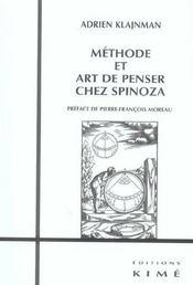 Methode Et Art De Penser Chez Spinoza - Intérieur - Format classique