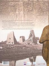 Des dieux, des tombeaux, un savant ; en egypte, sur les pas de mariette pacha - 4ème de couverture - Format classique
