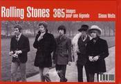 Rolling stones ; 365 images pour une légende - 4ème de couverture - Format classique