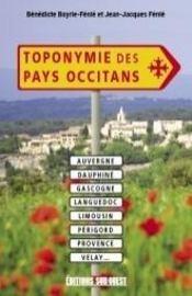 Toponymie Des Pays Occitans - Intérieur - Format classique