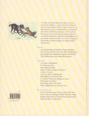 Chiens et chats littéraires - 4ème de couverture - Format classique