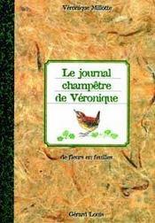 Le Journal Champetre De Veronique - Intérieur - Format classique