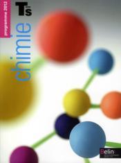 Chimie ; terminale S ; enseignement spécifique ; manuel de l'élève - Couverture - Format classique