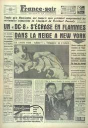 France Soir 8 Eme Edition N°5133 du 21/01/1961 - Couverture - Format classique